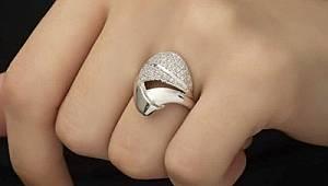 Gümüş Kadın Yüzük Modelleri