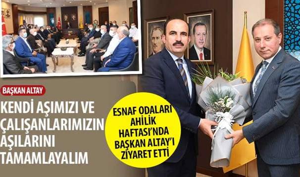 Konya'da Ahilik Haftası kutlamaları başladı.