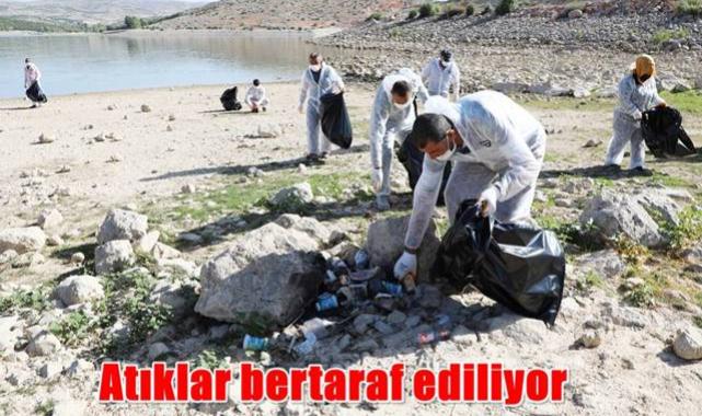 KOSKİ'den Altınapa baraj gölü'nde geniş çaplı temizlik