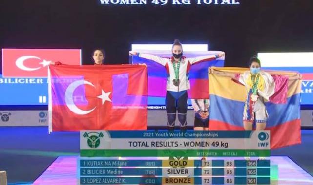 Yıldızlar halter şampiyonasında dünya ikincisi Konya'dan